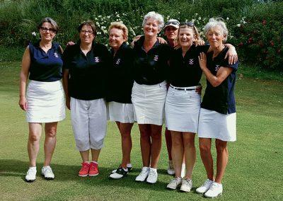équipe premières dames