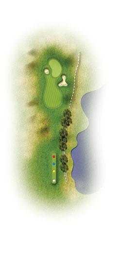trou 13 etretat golf normandie