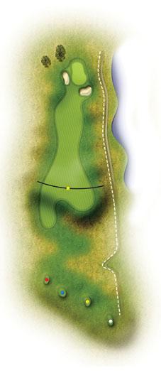 trou 14 golf etretat