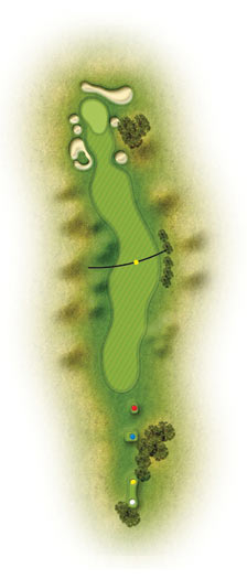 trou 16 golf etretat