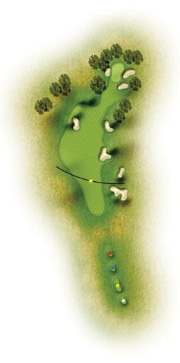 trou 17 etretat golf normadie
