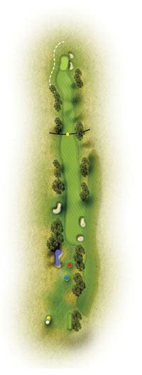 trou 18 golf etretat