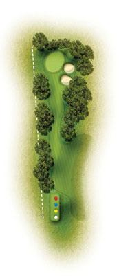 trou 2 etretat golf normandie