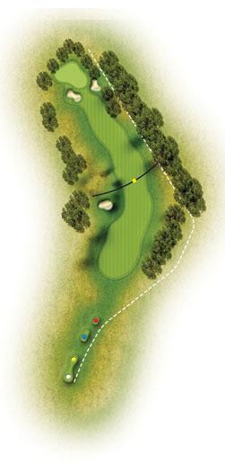 trou 5 etretat golf normandie