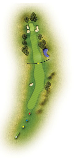 trou 8 etretat golf normandie