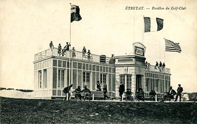 pavillon golf club d'étretat
