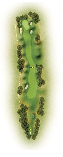 trou 3 etretat golf normandie