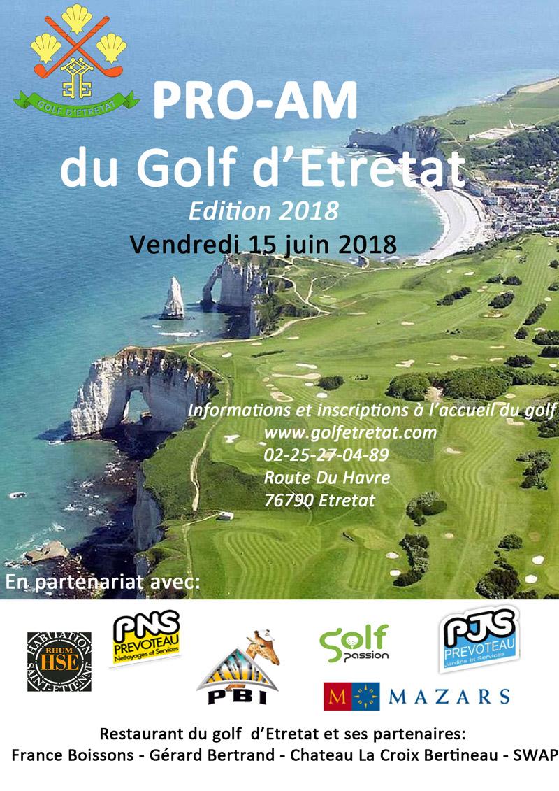 pro-am 2018 golf etretat