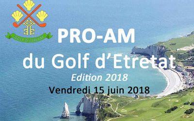 Pro-AM du Golf d'Etretat – Vendredi 15 juin 2018