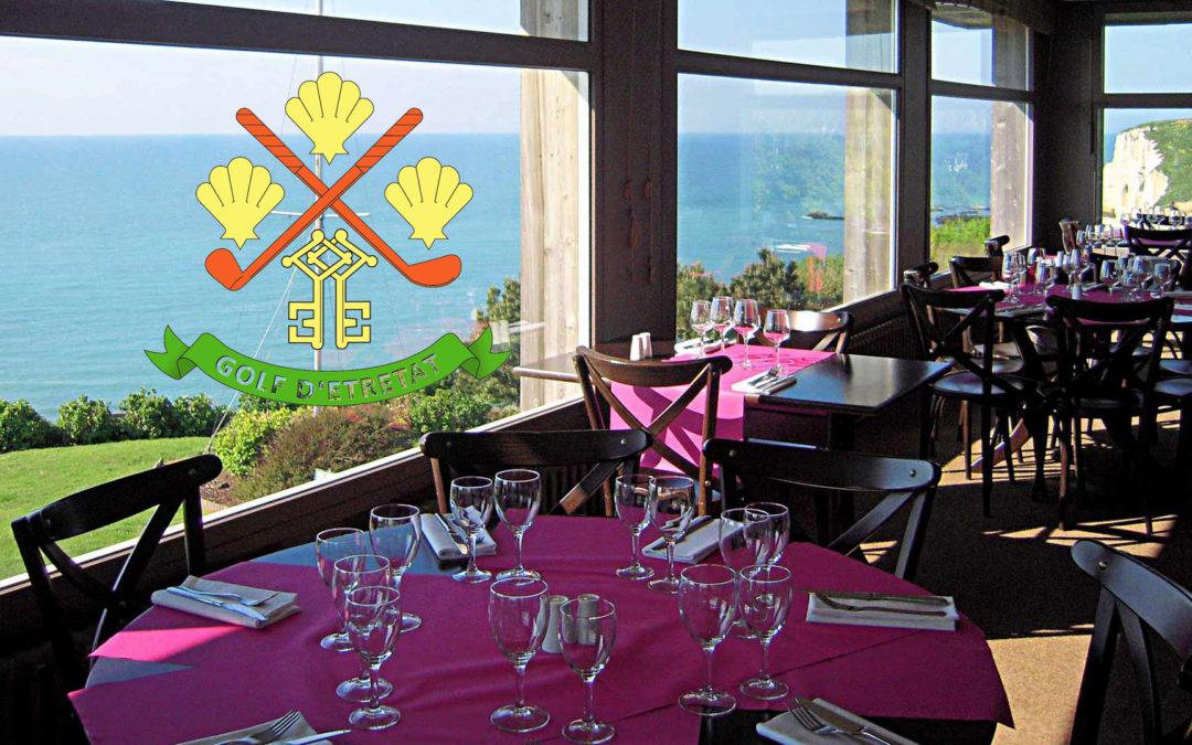 Horaires d'ouverture du Restaurant du golf d'Etretat pour la saison hivernale