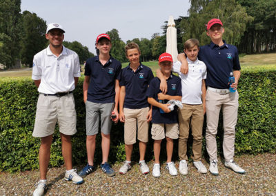 golf normandie équipe u16